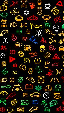 IPhone / IPad IPhone App. Car Warning Lights App