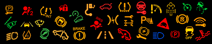 Car Warning Lights App